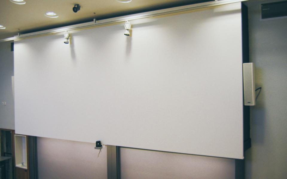 Kungliga Tekniska Högskolan-Projektionsduk
